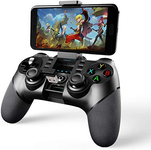 Mocoe Mobile Game Controller, Bluetooth & 2.4G Wireless Gamepad, Gaming Joystick Suitable...