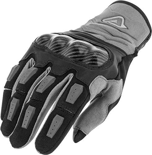Acerbis - Guantes de moto Carbon G 3.0 negro/gris