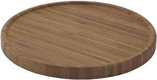 Bredemeijer Underlägg för en tekanna, bambu, brun, 18 x 18 x 1,6 cm