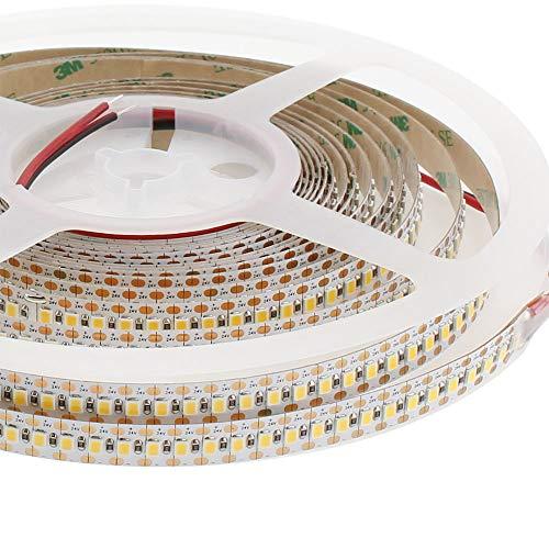 Tira LED Monocolor SMD2835, ChipLed Samsung, DC24V, 5m (180Led/m), Corte 5,55mm - IP20, Blanco neutro