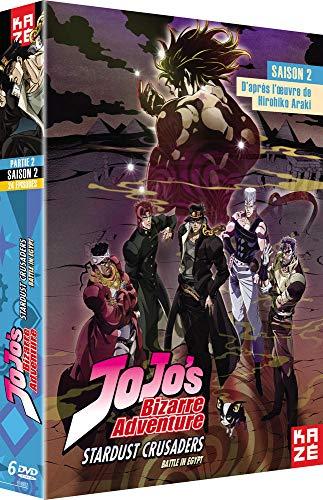 JoJo's Bizarre Adventure - Saison 2 - Box 2/2 Dvd
