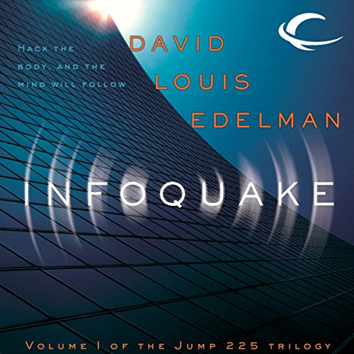 Infoquake audiobook cover art