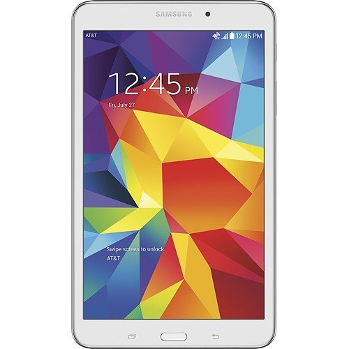 Samsung Galaxy Tab 4 8.0 (AT&T), White (Renewed)