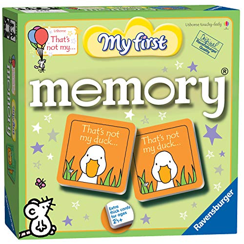 Ravensburger 21473 That's Not My... First That's Not My. Großes Memory-Spiel,