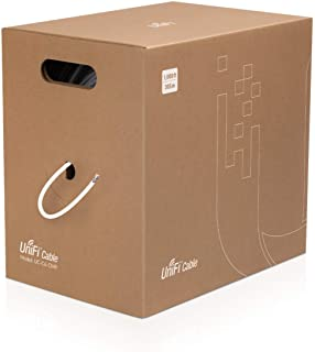 Ubiquiti UniFi Cable Cat.6 CMP - 1000.66 ft Category 6 Network Cable for Network Device - Bare Wire - Bare Wire - 1 Gbit/s...