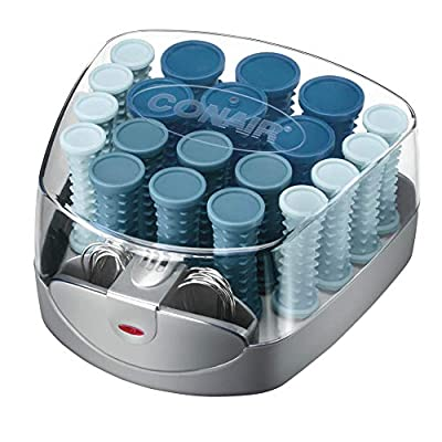 Conair Compact Multi-Size Hot Rollers, Blue