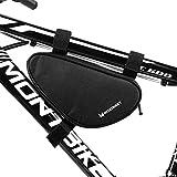 WOZINSKY Fahrradtasche Fahrrad Tasche Rahmentasche Wasserdicht Bike Bag 1,5L