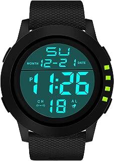 Digital Sport Watch Men Waterproof Sports Electronic Led Outdoor Wristwatch Alarm Stopwatch