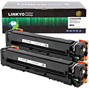 LINKYO Compatible Toner Cartridge Replacement for Canon 045 High Capacity 045H (Black, 2-Pack)