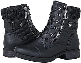 GLOBALWIN Women's 1821 Black Fashion Boots 8.5M