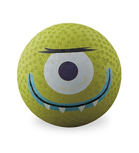 "Crocodile Creek Creetures Alien Playground Ball, Lime Green, 5"""