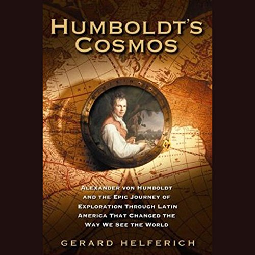 Humboldt's Cosmos audiobook cover art