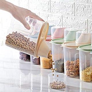 YXXHM- Rangement Boite Pot Scellé Bocaux Grande Capacité Hermetiques Alimentaires Plastique Scellée avec Couvercle, pour S...