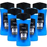 6 x 250ml Axe You Refresh Duschgel Shower Gel Duschgele Showergel Herrenpflege