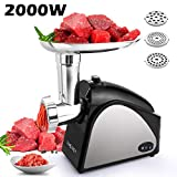 Best Electric Meat Grinders - Hauture Electric Meat Grinder, 2000W Meat Mincer Review