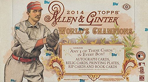 2014 Topps Allen & Ginter Baseball Hobby Box MLB