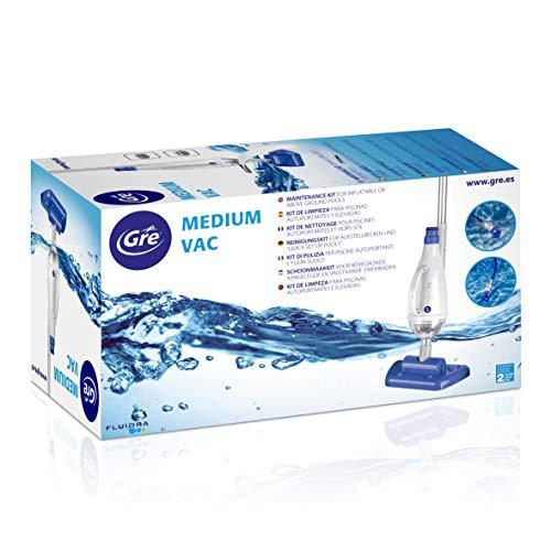 Gre AR20637 Medium Vac - Nettoyeur de piscine à aspiration manuelle