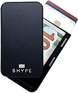 Shype Wallet Credit Card Holder RFID Blocking Minimalist Carbon Fiber Luxury Wallet
