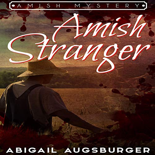 The Amish Stranger audiobook cover art