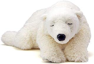 カロラータ ホッキョクグマ ( シロクマ ) 親 ぬいぐるみ 動物 (おやすみシリーズ) 17cm×11cm×40cm