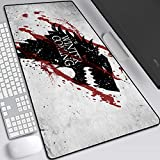 Game of Thrones,GOT Mouse Pad,Professional Large Gaming Mouse Pad, Classic Pattern Mouse mat,Extended Size Desk Mat Non-Slip Rubber Mouse Mat,LOL (800 × 300× 2 mm / 31.5 × 11.8 × 0.1 inch, 14)