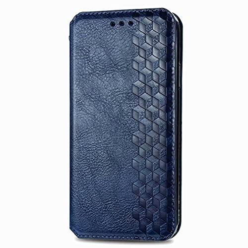 LORMI Funda para LG Styo7 4G, funda tipo cartera de PU con soporte para tarjetas, soporte magnético y función atril y libro para LG Styo7 4G, color azul