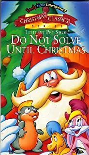 Littlest Pet Shop - Do Not Solve Until Christmas VHS