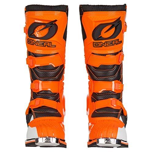 O'Neal Rider Boot MX Stiefel Orange Moto Cross Motorrad Enduro, 0329-3, Größe 43 - 7