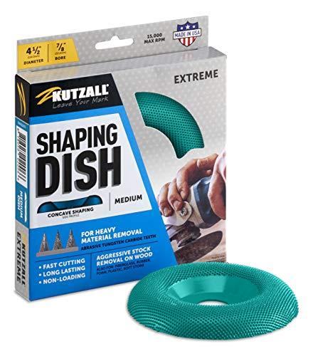 Kutzall Extreme dish Rad - mittel, Wolframkarbid-Beschichtung - 4-1/2 (114,3 mm)