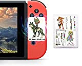 NFC Cards for TLOZ BOTW Switch Wii U, 24pcs Game Cards for Nintendo Switch/Switch Lite/Wii U/New 3DS with Card Case (Mini Size)
