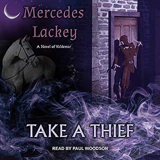 Take a Thief audiobook cover art