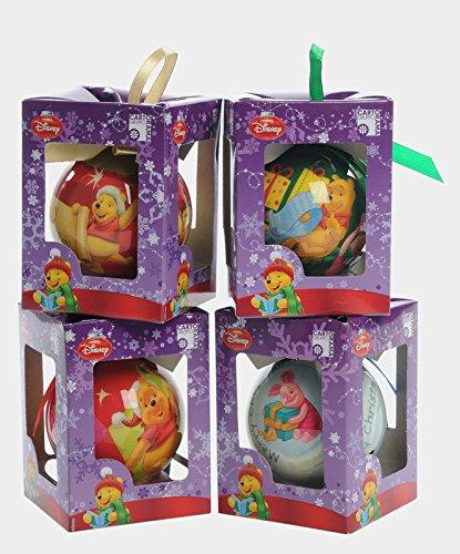 Kit 4 palline in Confezione regalo Winnie the Pooh