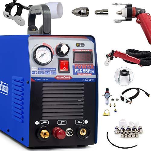 プラズマカッター プラズマ切断機 エアープラズマ切断機 220V兼用 非接触切断 軽量 CNC工作機械 CUT50P (200V)