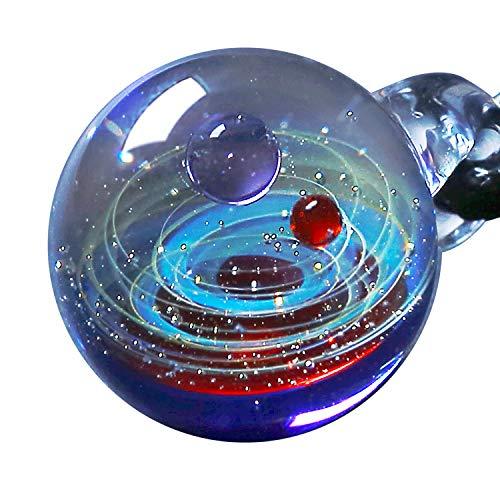 Pavaruni - Original Galaxie-Schmuck - Aurora Kosmos-Design - japanische Kunst - von Kunsthandwerkern gefertigt - Geschenkidee (Venus)