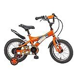 FUFU 12 Bicicletas De Alta Pulgadas De Acero Al Carbono Niños, Adecuado For Niños Y Niñas De 2-4