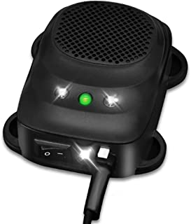 Loraffe Under Hood Rodent اولتراسونیک موش ضدعفونی کننده موش با استفاده از چراغ قوه سونوگرافی و LED ، برای کنترل آفات گاراژ خودرو 12 ولت 24 ولت ، حیوان را از جویدن ماشین محافظت کنید