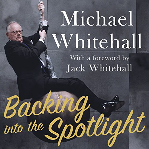 Backing into the Spotlight audiobook cover art