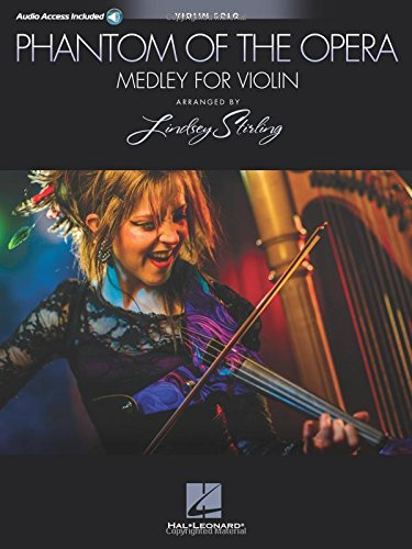 Phantom of the Opera - Lindsey Stirling Medley (Violin With Original Audio Backing Tracks): Noten, Play-Along für Violine