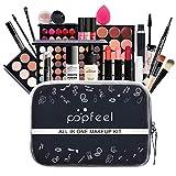 HoJoor Kit de maquillaje multiusos Paleta de Maquillaje Set Paleta de Sombras de Ojos Juego de Maquillaje Kit de Maquillaje para Mujeres y Niñas Caja de Regalo Cosméticos #076