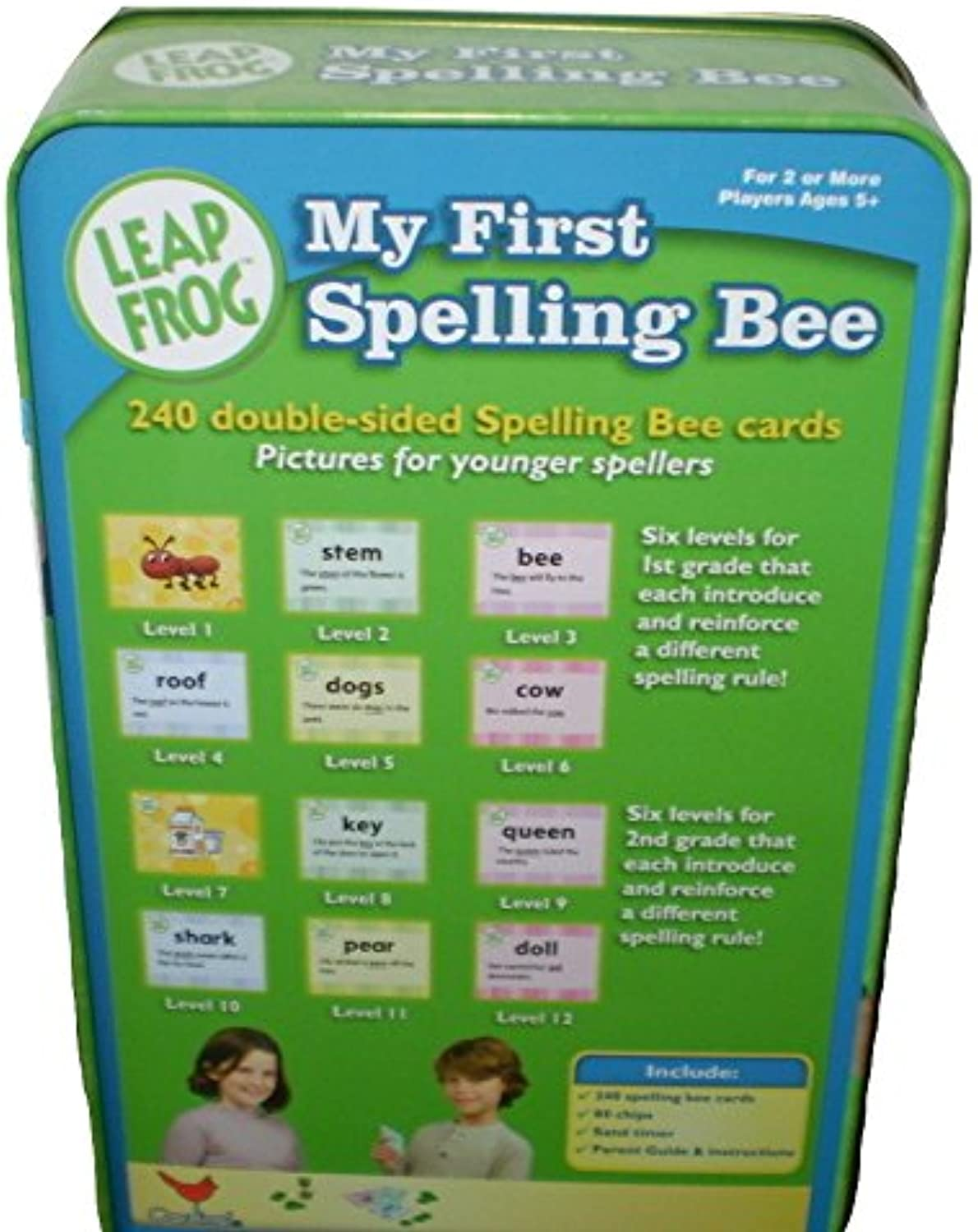 Leap Frog My First Spelling Bee in a Tin