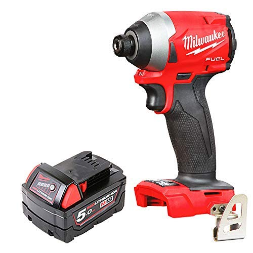 Milwaukee M18FID2 18v M18 Fuel Impact Driver with 1 x 5Ah Battery