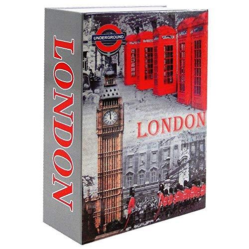 Cofre Livro Aço 2mm Book Safe KBS-802 DS1697 24cm London
