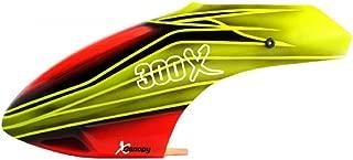 XCanopy Airbrush Fiberglass Fire Fly Canopy - BLADE 300X