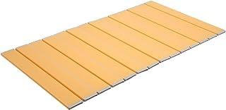 【Amazon.co.jp限定】 抗菌タイプ 折りたたみ式風呂ふた 75×110cm オレンジ L11