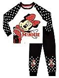 Disney Pijamas de Manga Corta para niñas Minnie Mouse Blanco 8-9 Años