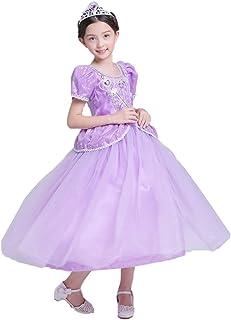 プリンセスなりきり フォーマルドレス お姫様ドレス 女児 キッズドレス 姫風 ワンピース+王冠+杖