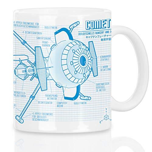 style3 Future Comet Motivtasse captain