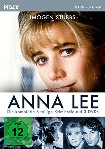 Anna Lee / Die komplette 6-teilige Krimiserie nach den Romanen von Liza Cody (Pidax Serien-Klassiker) [3 DVDs]