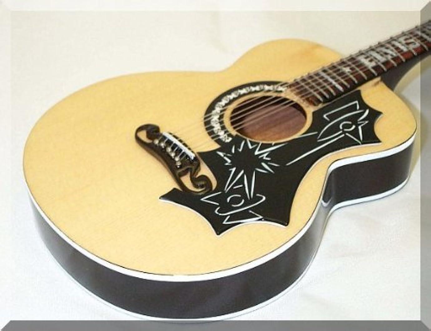 変数潜在的なトランジスタELVIS PRESLEY Miniature Mini Guitar Acoustic Old Era アコースティックギター アコギ ギター (並行輸入)