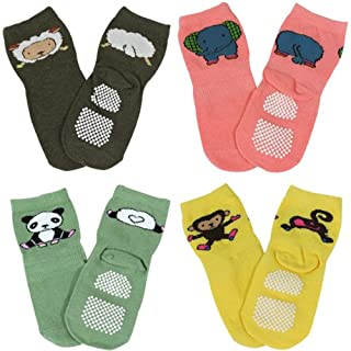 Wrapables Animal Fun Non-Skid Baby Socks (Set of 4) (B00B65GAUW) | Amazon price tracker / tracking, Amazon price history charts, Amazon price watches, Amazon price drop alerts